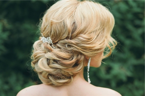 Featured Photo of Low Updo Wedding Hairstyles