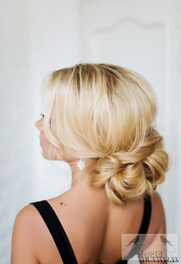 26 Fabulous Wedding Bridal Hairstyles For Long Hair | Pinterest Within Low Updo Wedding Hairstyles (View 7 of 15)