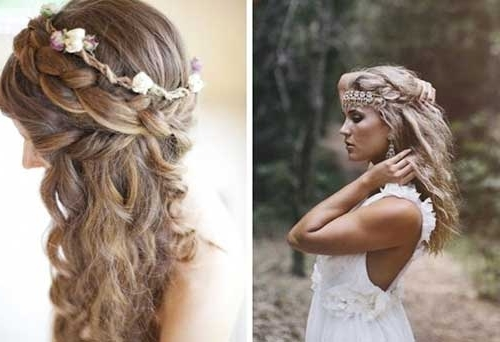 26 Nice Braids For Wedding Hairstyles | Hairstyles & Haircuts 2016 For Wedding Hairstyles For Long Hair With Braids (View 14 of 15)