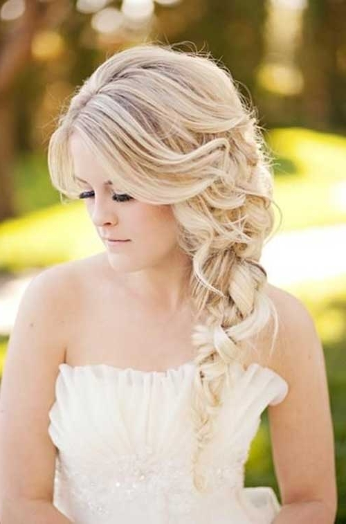 26 Nice Braids For Wedding Hairstyles | Hairstyles & Haircuts 2016 Pertaining To Wedding Hairstyles For Blonde (View 12 of 15)