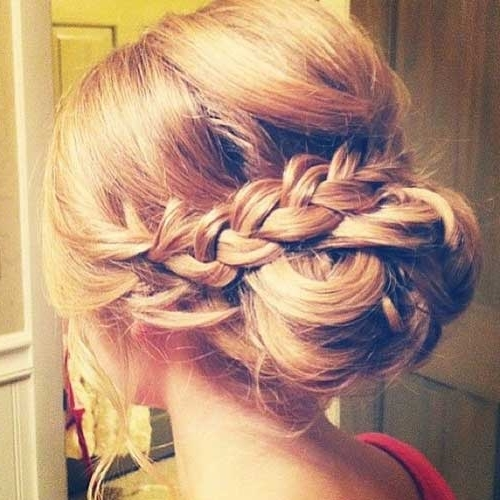 26 Nice Braids For Wedding Hairstyles | Hairstyles & Haircuts 2016 Regarding Wedding Updos For Long Hair With Braids (View 4 of 15)