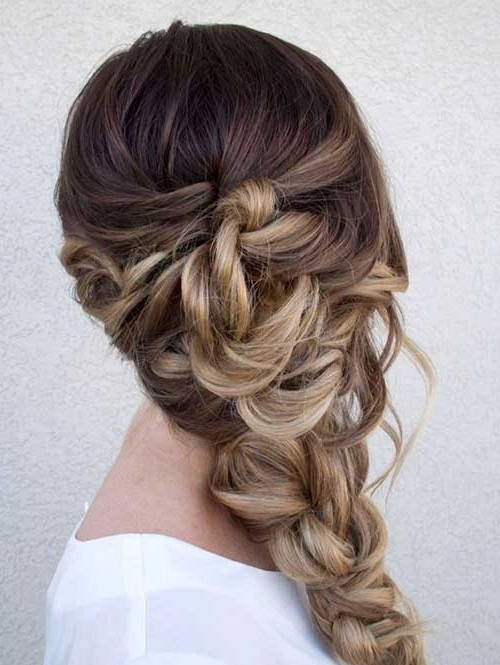 26 Nice Braids For Wedding Hairstyles | Hairstyles & Haircuts 2016 Throughout Wedding Hairstyles With Ombre (View 13 of 15)