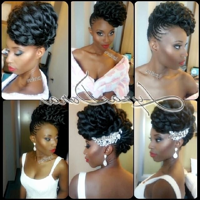 26 Wedding Hairstyles With Kinky Twist Inspirational Images Inside Wedding Hairstyles With Kinky Twist (View 5 of 15)