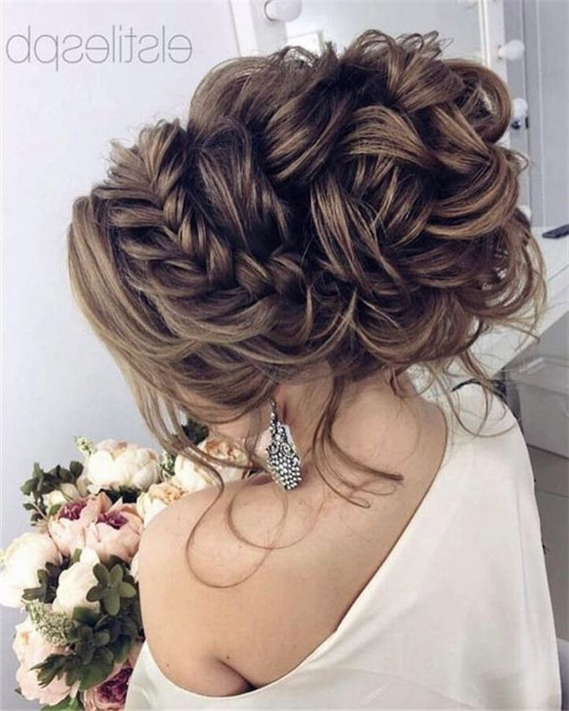 2631 Best Tresses Images On Pinterest | Hair Dos, Vintage Hairstyles Intended For Wedding Updos For Long Thick Hair (View 2 of 15)