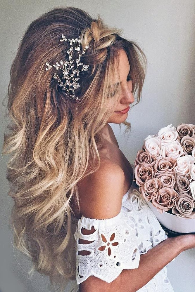 27 Modish Ombre Wedding Hairstyles | Ombre, Blond And Short Hair Inside Wedding Hairstyles With Ombre (View 7 of 15)