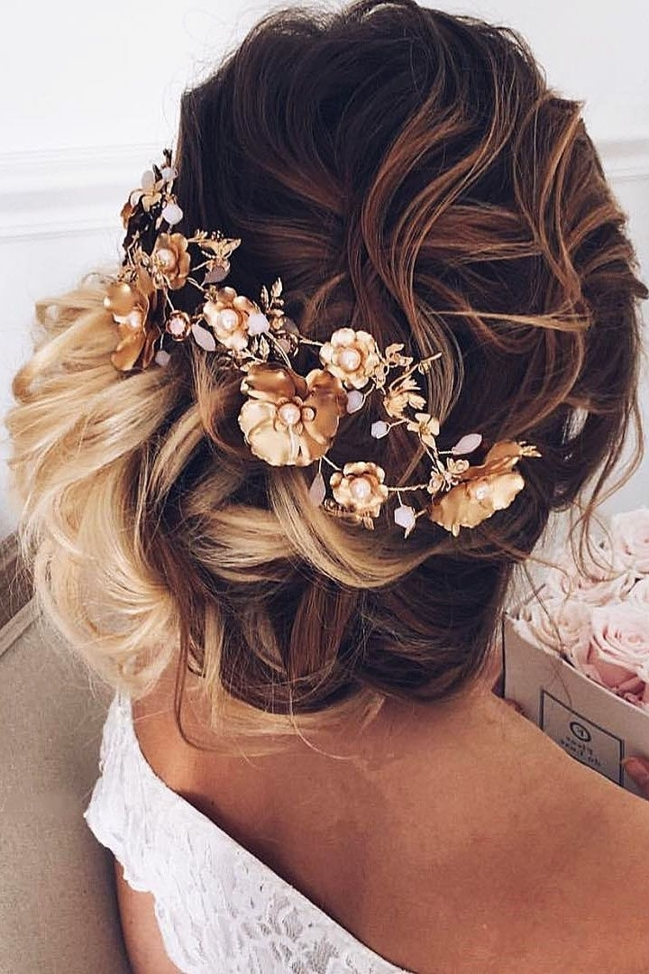 27 Modish Ombre Wedding Hairstyles | Ombre, Bridal Hairstyle And Within Wedding Hairstyles With Ombre (View 4 of 15)