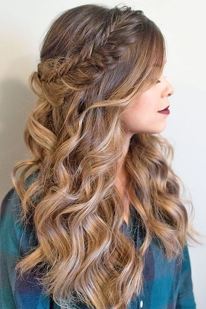 27 Modish Ombre Wedding Hairstyles | Ombre, Wedding And Hair Style Intended For Wedding Hairstyles With Ombre (View 9 of 15)