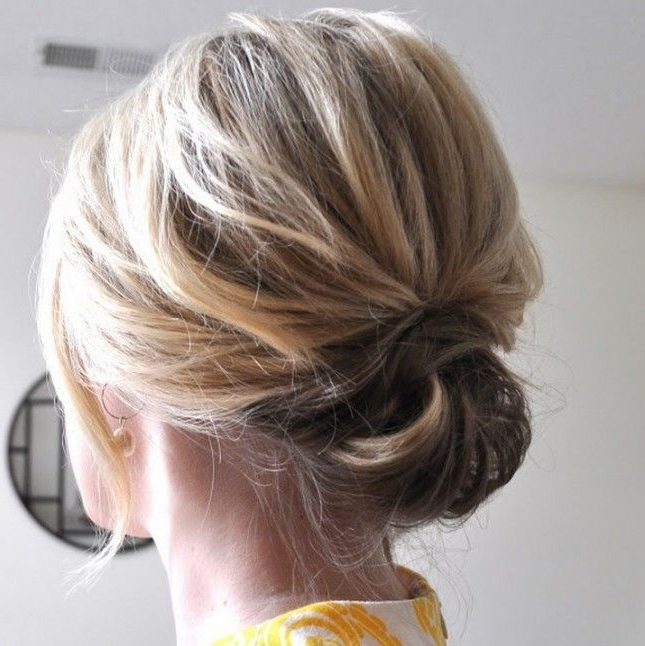 27 New Bob Hairstyles To Keep Looking Fresh | Pinterest | Bobs, Updo Inside Put Up Wedding Hairstyles (View 1 of 15)