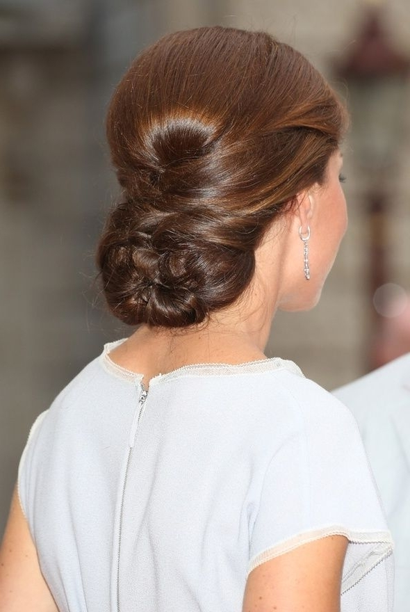 272 Best Wedding Hair: Low Chignons Images On Pinterest | Chignons Intended For Chignon Wedding Hairstyles (View 5 of 15)