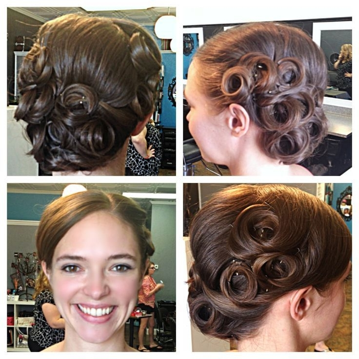 28+ [Pin Curls Www Pixshark Images Galleries With A Bite] Throughout Pin Curls Wedding Hairstyles (View 10 of 15)