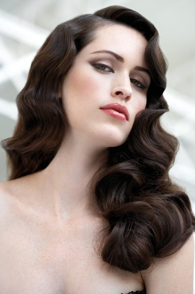 29 Stunning Vintage Wedding Hairstyles – Mon Cheri Bridals Intended For Classic Wedding Hairstyles For Long Hair (View 6 of 15)