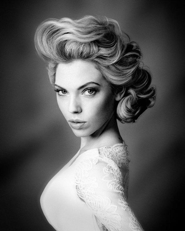 29 Stunning Vintage Wedding Hairstyles – Mon Cheri Bridals Regarding Vintage Updo Wedding Hairstyles (View 5 of 15)