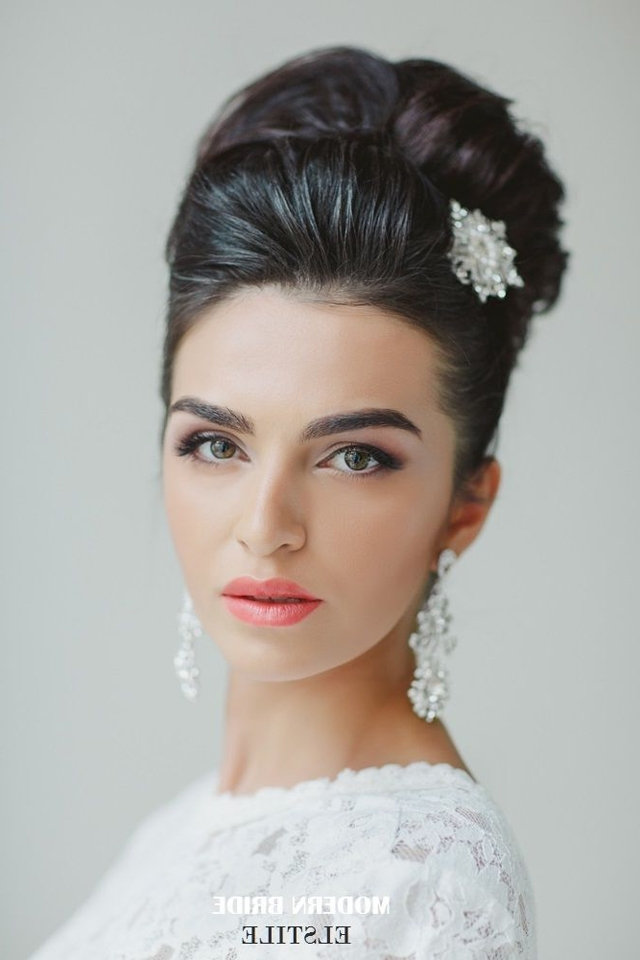 View Gallery Of High Updos Wedding Hairstyles Showing 13 Of 15 Photos