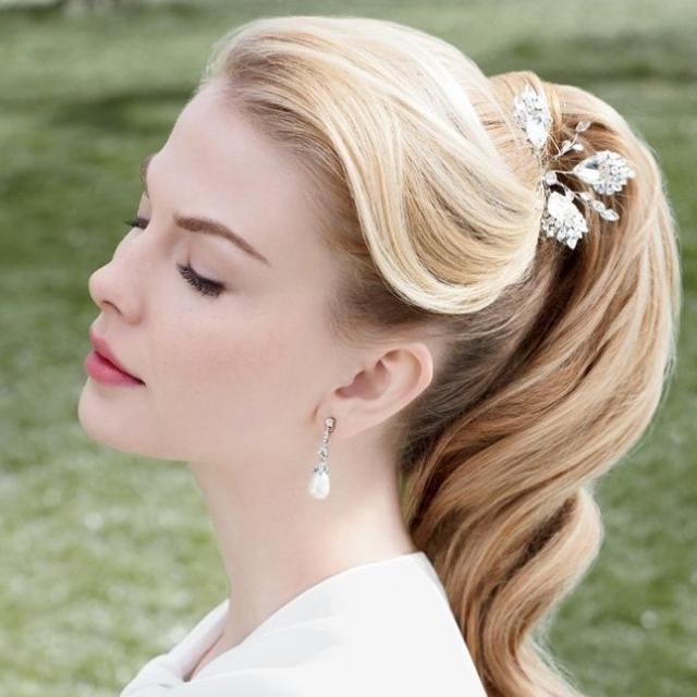 29 Stunning Vintage Wedding Hairstyles – Mon Cheri Bridals With Vintage Wedding Hairstyles (View 6 of 15)