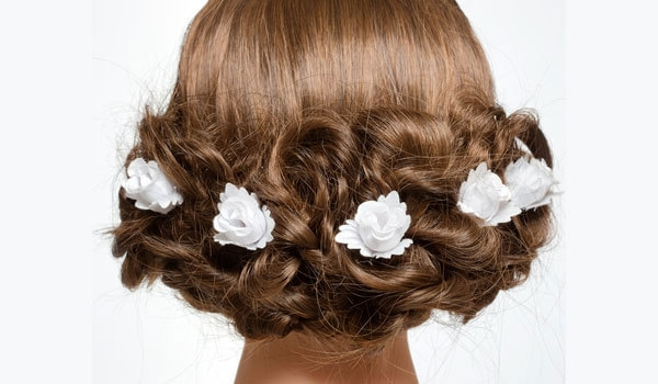 3 Wedding Hairstyles To Try At Home Without Heat | Bebeautiful Regarding Wedding Hairstyles Without Heat (View 4 of 15)