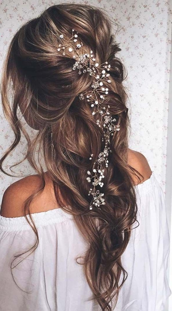 30 Beautiful Wedding Hairstyles – Romantic Bridal Hairstyle Ideas Inside Wedding Hairstyles For Long Romantic Hair (View 10 of 15)