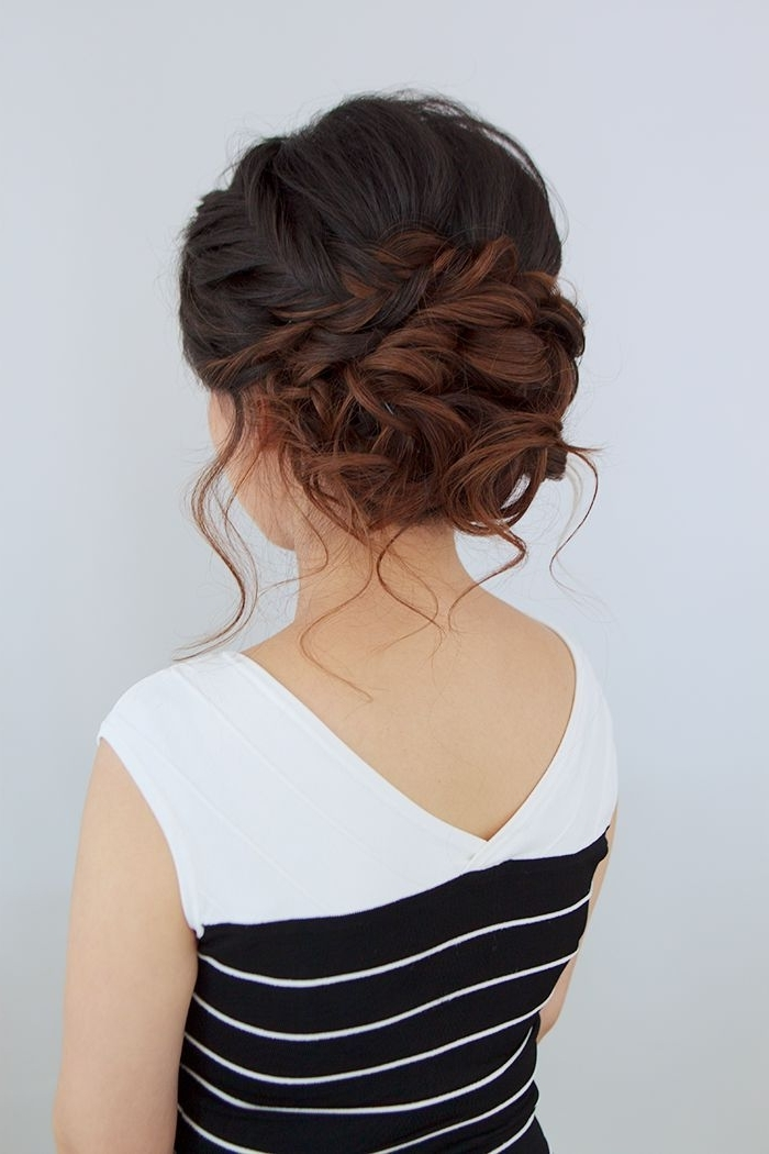 30 Beautiful Wedding Updos For 2018 – Elegant Updos For Wedding Pertaining To Elegant Wedding Hairstyles For Bridesmaids (View 4 of 15)