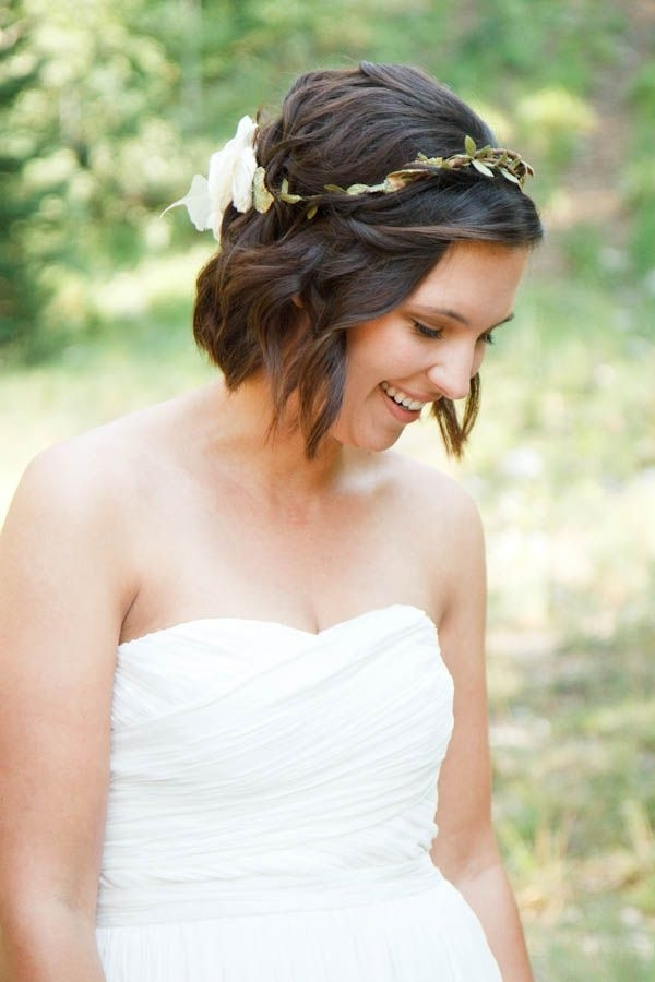 30 Best Wedding Hair: The Bob Images On Pinterest | Hair Dos Pertaining To Bob Wedding Hairstyles (View 3 of 15)