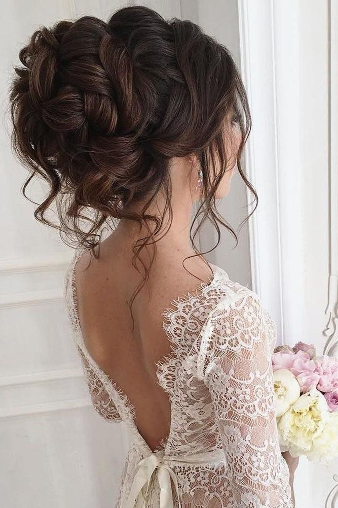30 Elegant Wedding Hairstyles For Gentle Brides | Pinterest With Regard To Elegant Wedding Hairstyles (View 10 of 15)
