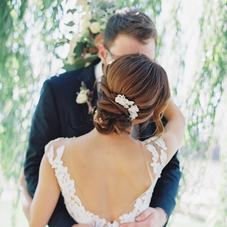 30 Romantic Wedding Hairstyles | Brides Within Romantic Wedding Hairstyles (View 14 of 15)