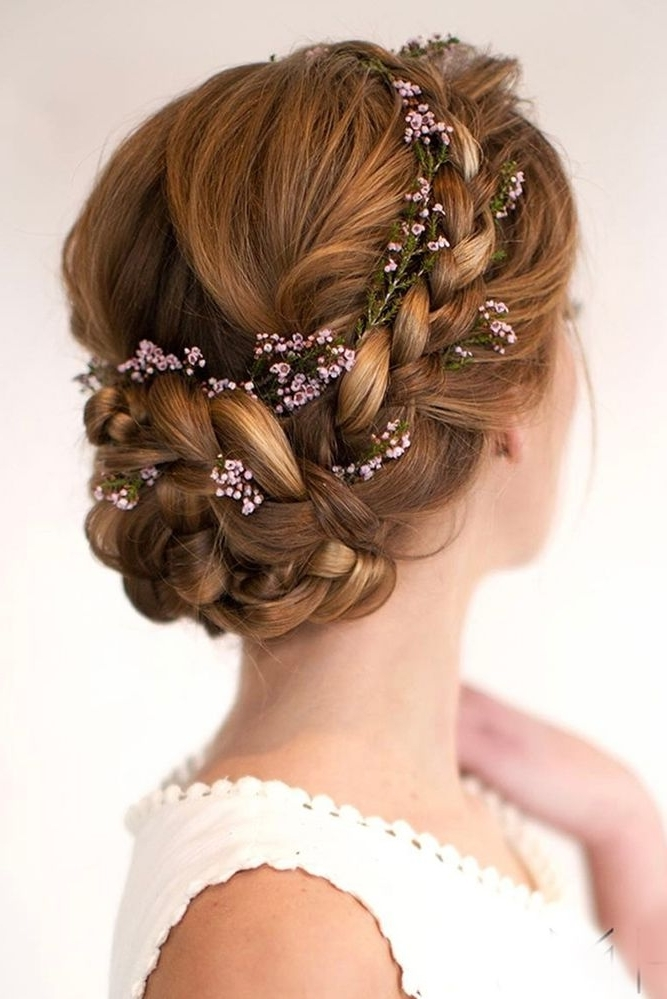 30 Top Wedding Updos For Medium Hair | Pinterest | Medium Hair Within Wedding Hairstyles For Medium Hair (View 5 of 15)