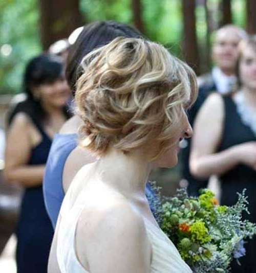 30 Wedding Hair Styles For Short Hair | Hairstyles & Haircuts 2016 In Bob Wedding Hairstyles (View 5 of 15)