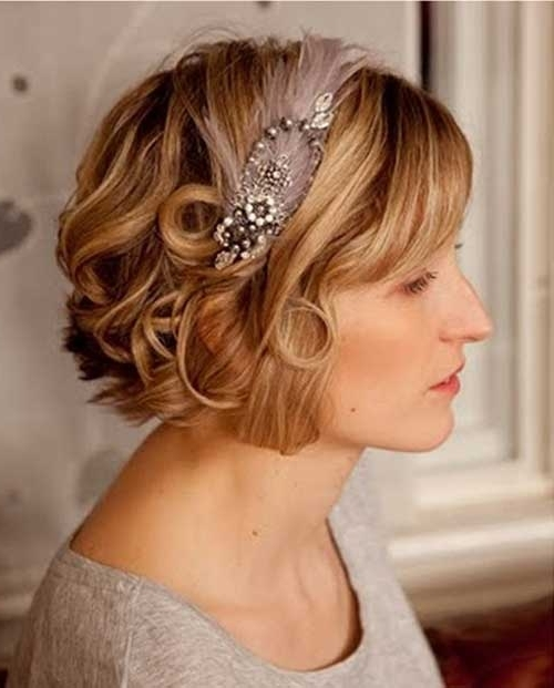 30 Wedding Hair Styles For Short Hair | Hairstyles & Haircuts 2016 With Regard To Wedding Hairstyles For Short Blonde Hair (View 15 of 15)