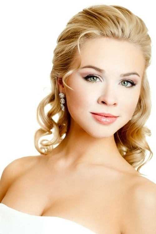 30 Wedding Hairstyles For Medium Hair With Wedding Hairstyles For Shoulder Length Straight Hair (View 15 of 15)