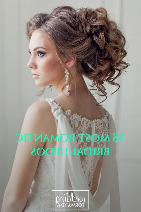30 Wedding Hairstyles – Romantic Bridal Updos #2513779 – Weddbook Throughout Wedding Hairstyles For Long Romantic Hair (View 6 of 15)