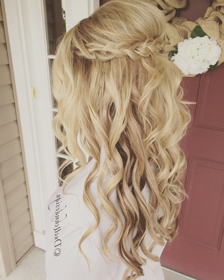 31 Best Anniversary Party Images On Pinterest | Decor Wedding Inside Casual Wedding Hairstyles For Long Hair (View 5 of 15)