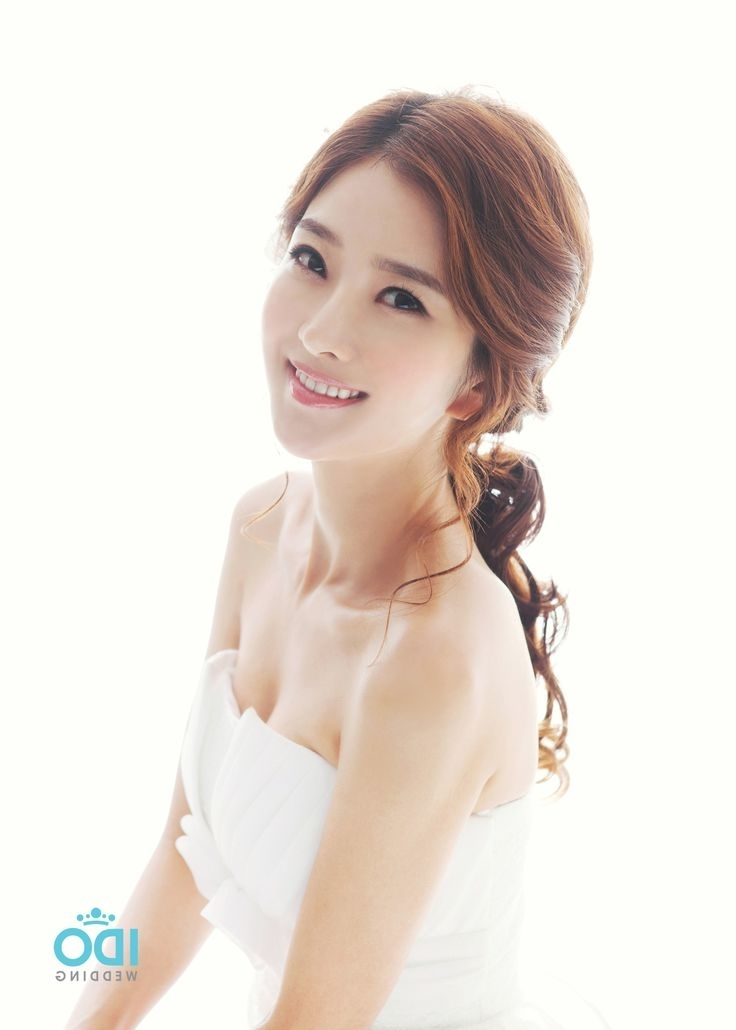 31 Best ???? Images On Pinterest | Bridal Hairstyles, Wedding For Korean Wedding Hairstyles For Long Hair (View 14 of 15)