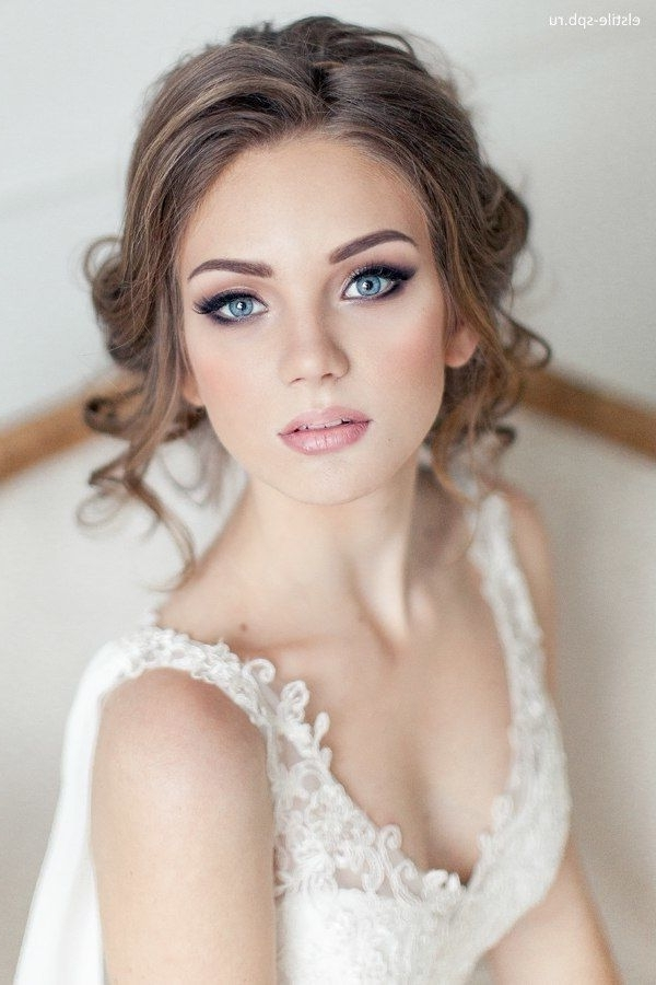 31 Gorgeous Wedding Makeup & Hairstyle Ideas For Every Bride In Wedding Hairstyles And Makeup (View 2 of 15)