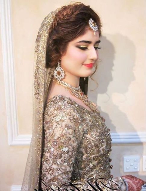 32 Best Pakistani Bridal Wedding Hairstyles Images On Pinterest Pertaining To Pakistani Wedding Hairstyles (View 5 of 15)