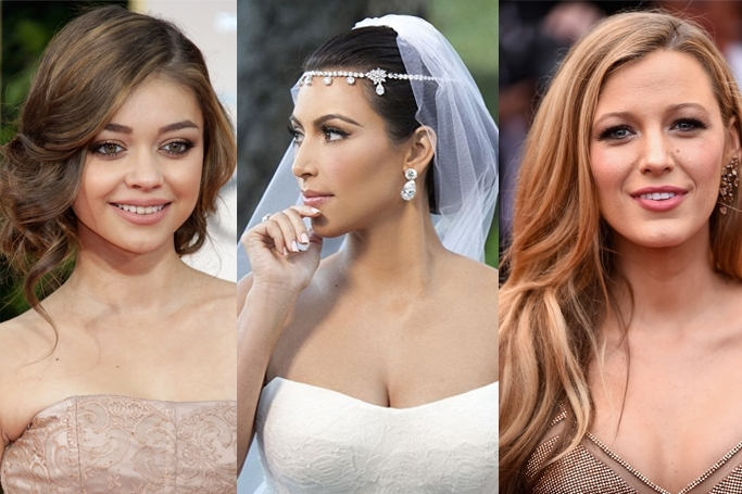 32 Celebrity Wedding Hairstyle Inspirations | Ewmoda Inside Celebrity Wedding Hairstyles (View 2 of 15)