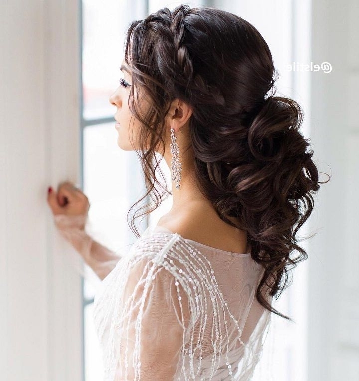 Featured Photo of Partial Updo Wedding Hairstyles