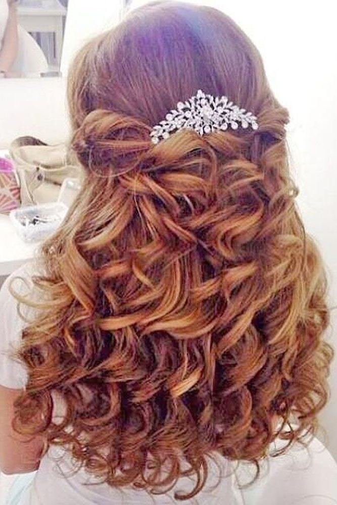Featured Photo of Wedding Hairstyles For Girls