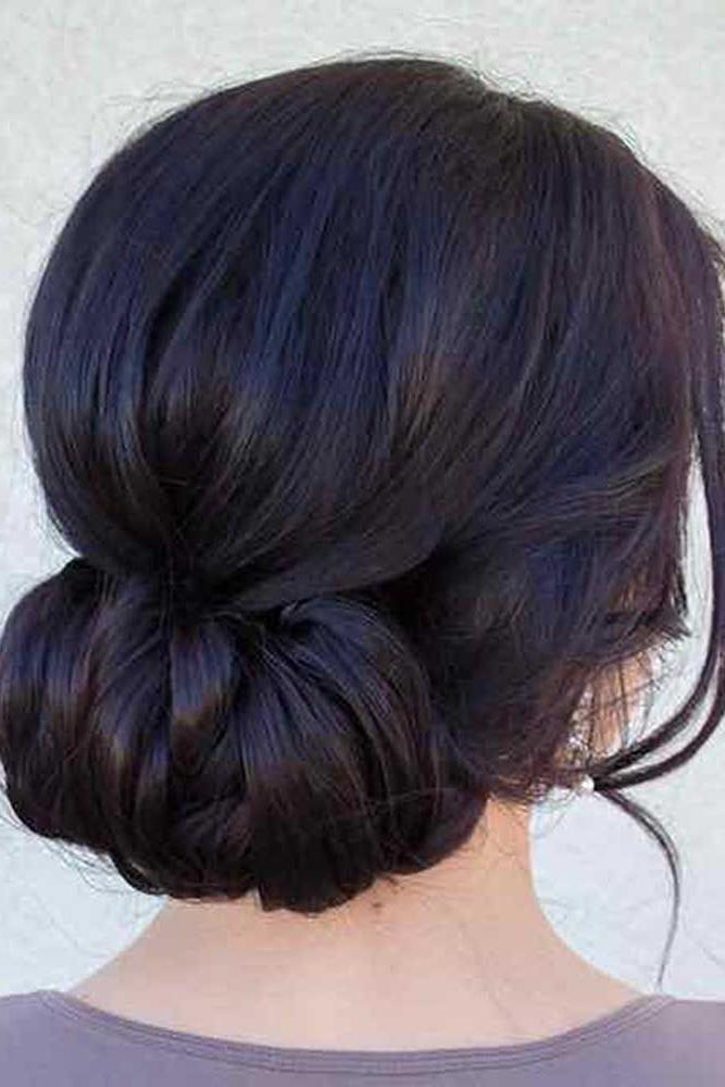 33 Hottest Bridesmaids Hairstyles For Short & Long Hair | Bridesmaid Pertaining To Elegant Wedding Hairstyles For Bridesmaids (View 5 of 15)