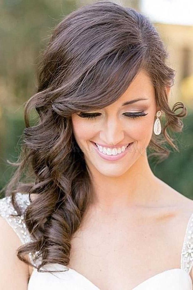33 Hottest Bridesmaids Hairstyles For Short & Long Hair | Pinterest With Wedding Hairstyles For Long Hair For Bridesmaids (View 2 of 15)