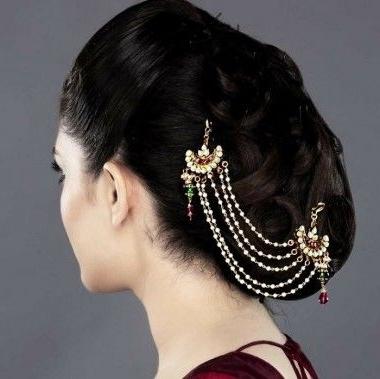 34 Best Juda Pin & Rakodi Images On Pinterest | Hair Fascinators With Wedding Juda Hairstyles (View 11 of 15)