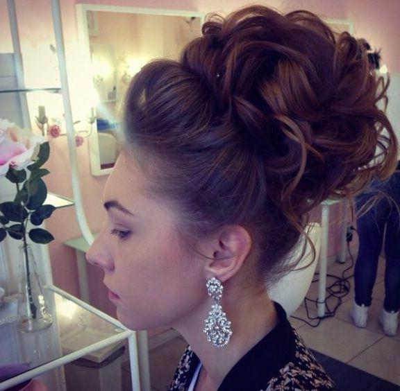 34 Stunning Wedding Hairstyles | High Bun, Hair Style And Updos Regarding High Bun Wedding Hairstyles (View 6 of 15)