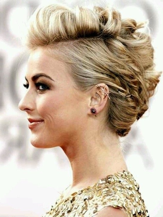 Showing Photos of Cute Wedding Hairstyles For Short Curly Hair (View ...