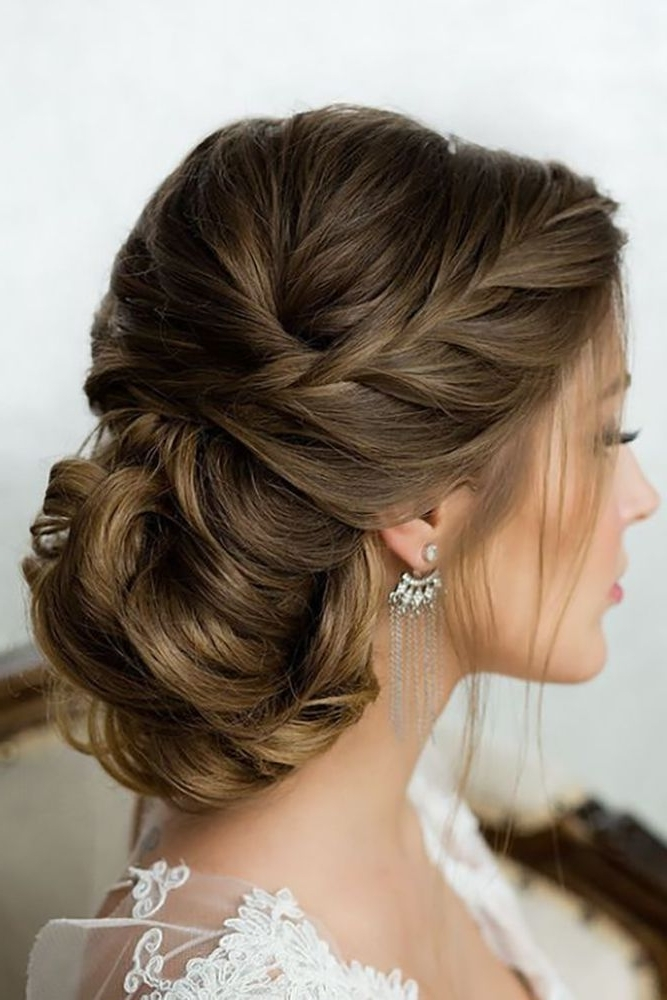 352 Best Hair & Beauty Images On Pinterest | Bridal Hairstyles With Wedding Hairstyles For Long Bun Hair (View 5 of 15)