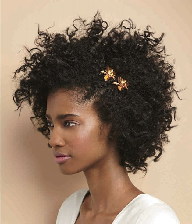 357 Best Natural Hair Styles Images On Pinterest | Natural Hair Within Wedding Hairstyles For Natural African American Hair (View 2 of 15)