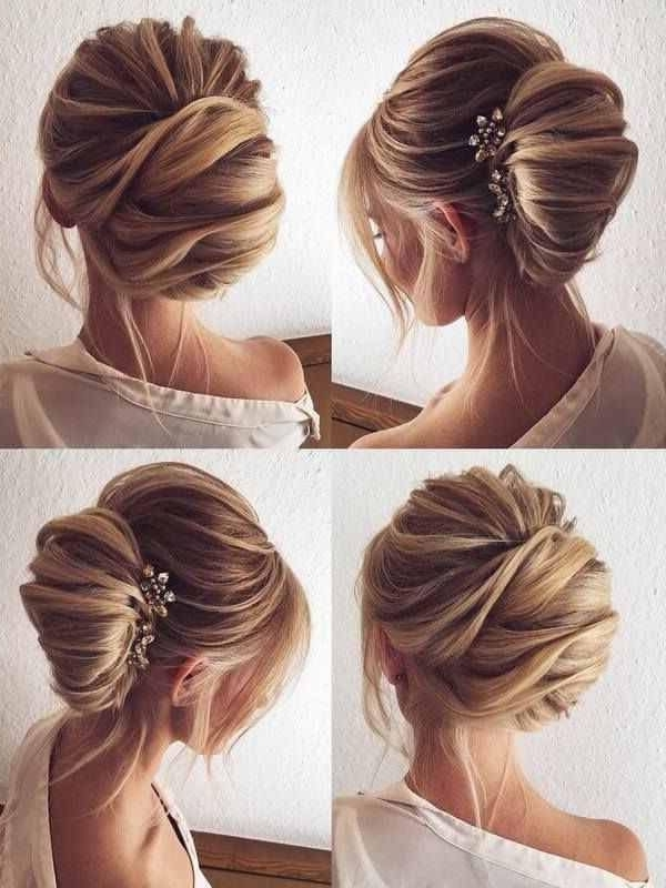 36 Best Bryllup Images On Pinterest | Wedding Hair Styles, Bridal With Regard To Roll Hairstyles For Wedding (View 3 of 15)