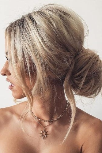 36 Chic And Easy Wedding Guest Hairstyles | Wedding Guest Hairstyles For Easy Wedding Guest Hairstyles For Medium Length Hair (View 4 of 15)