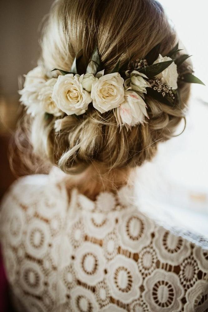 36 Romantic Rustic Wedding Hairstyles | Rustic Wedding Hairstyles Regarding Rustic Wedding Hairstyles (View 3 of 15)