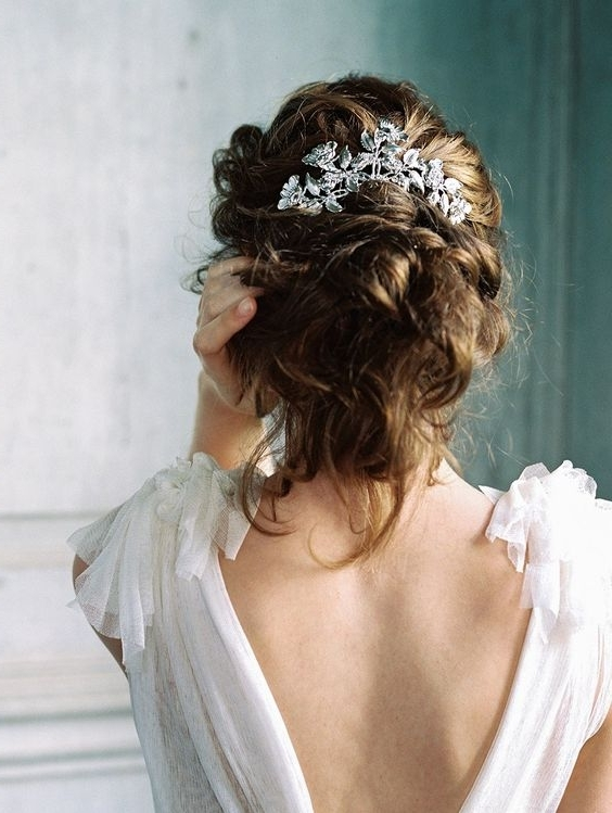 36 Romantic Spring Wedding Hairstyles That Inspire – Weddingomania Regarding Spring Wedding Hairstyles For Bridesmaids (View 12 of 15)