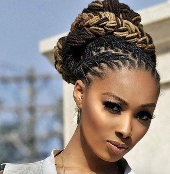 36 Wedding Hairstyles For Locs | | Braids, Wraps & Natural Hair In Dreadlocks Wedding Hairstyles (View 9 of 15)