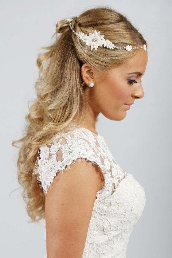 37 Best Circlets & Hair Jewellery Images On Pinterest | Hair With Wedding Hairstyles With Hair Jewelry (View 3 of 15)