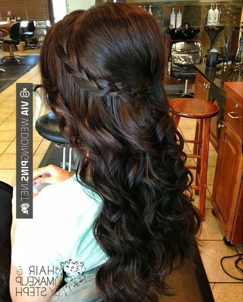 37 Best Wedding Guest Hair Images On Pinterest | Wedding Hair Styles In Wedding Reception Hairstyles For Guests (View 4 of 15)